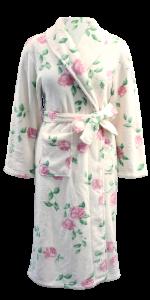 flowers bathrobe - Hi Style Fashion Manufacturer