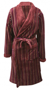 1 MSLP 5035 Mens 100% polyester knitted robe 9 nov18