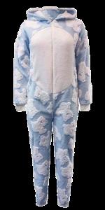 2 LS 3357 Ladies onesie 100% poly shaggy fleece 290gsm 9nov18
