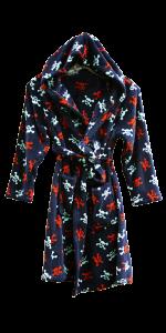 3 BS 0152 Boys Robe 100% Polyester coral fleece, 240gsm