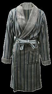 5 MSLP 5034 Mens 100% polyester knitted robe