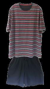 7 MS 0092 100 cotton jersey PJ short set 9 nov18
